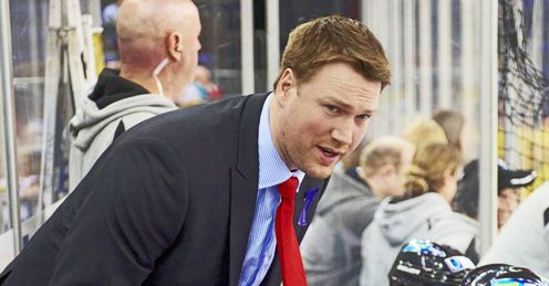 Doug Christiansen led Belfast Giants to the Elite League title