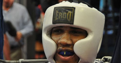 Poster boy: Anthony Joshua could be the GB golden boy