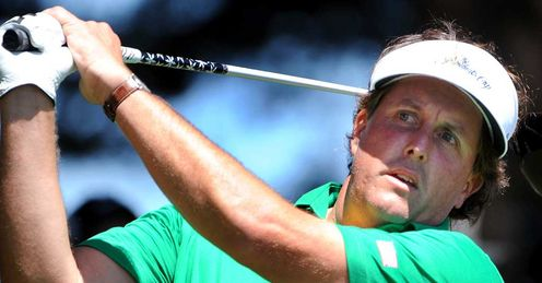 Mickelson: returns to action this week