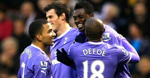 Tottenham: on a winning streak