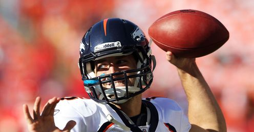 Stepping up: Tebow is now 5-1 as a starter