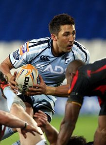 Cardiff Blues Gavin Henson RaboDIRECT PRO12 v Dragons