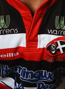 Cornish Pirates shirt