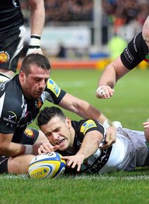 Danny Care try harlequins exeter