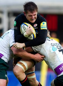 Ernst Joubert Saracens v London Irish dec 2011