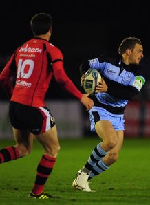 Jimmy Gopperth Newcastle Falcons v Toulon  Amlin Challenge Cup