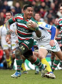 Manu Tuilagi LEicester try v Clermont hec 2011