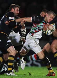 Mike Brown Wasps v Harlequins dec 2011