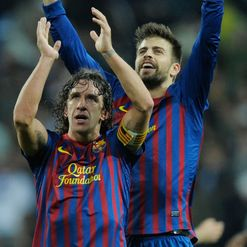 Puyol and Pique: Back from injury