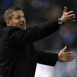 Simeone: Satisfied with performances