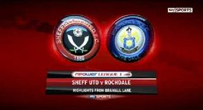 Sheffield United 3-0 Rochdale