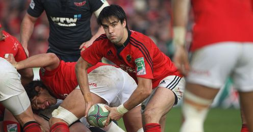 Conor Murray  Munster v Scarlets  Heineken Cup