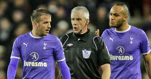 Spurs: not impressed with Chris Foy