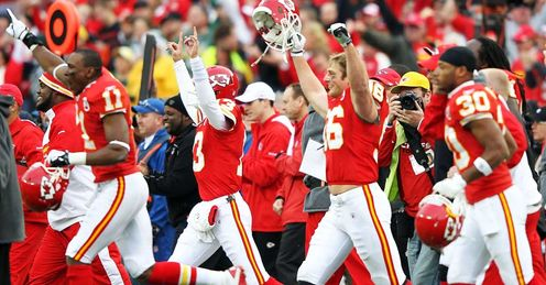 Chiefs: celebrate shock win