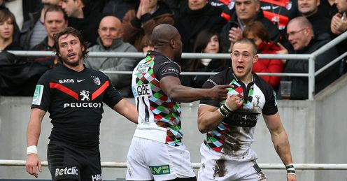 Mike Brown: impressive for Quins