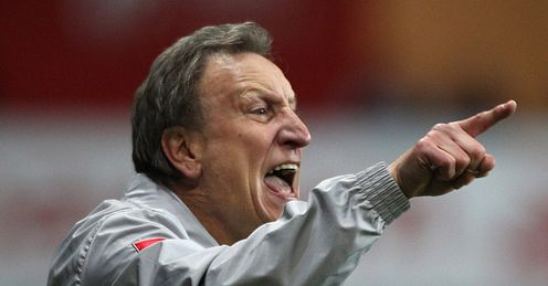 Warnock: was let down by players