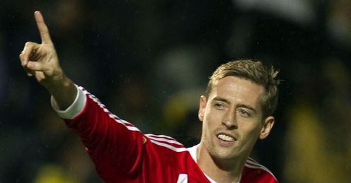 Making a gnome for himself: Stoke's Peter Crouch