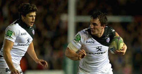Toulouse No 8 Louis Picamoles v harlequins