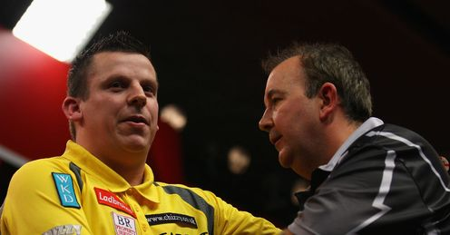 Chisnall: showed no fear in his win over Taylor