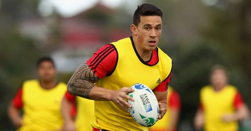sonny bill williams ABs training RWC 2011