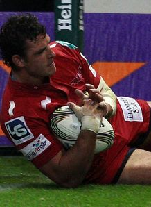 Aaron Shingler try scarlets