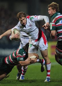 Andrew Trimble Ulster v Leicester 2012