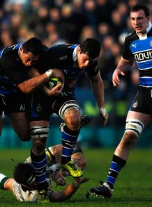 Bath v Northampton Francois Louw