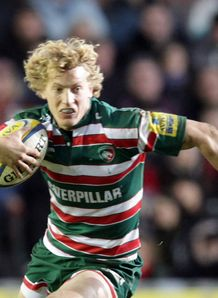 Billy Twelvetrees leicester close up
