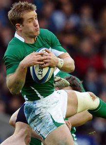 Luke Fitzgerald Ireland v Scotland 2011