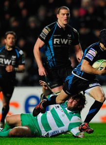 Matthew Morgan Ospreys Treviso