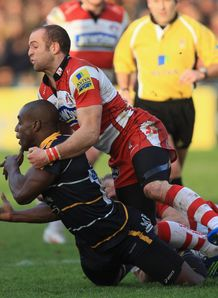 Miles Benjamin Worcester v Gloucester 2012