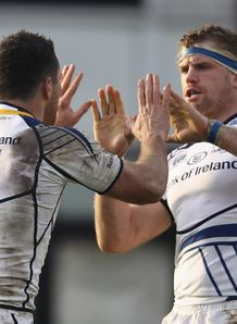 Rob Kearney Jamie Heaslip Leinster HEC