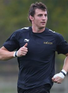 Tom Wood Northampton training session 2011