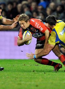 Toulon fly half Jonny Wilkinson v Clermont 2012