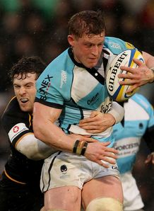 Wasps v Worcester Elliot Daly Jake Abbott New Years Day