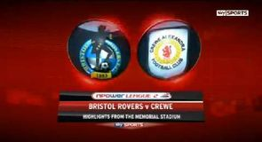 Bristol Rovers 2-5 Crewe