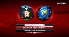 Bradford 3-1 Shrewsbury