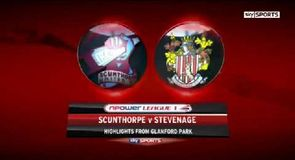 Scunthorpe 1-1 Stevenage