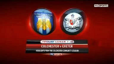 Colchester 2-0 Exeter