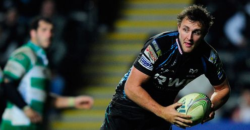 Ashley Beck Ospreys v Treviso 2012