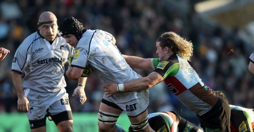 Grand stand: neither Quins nor the Tigers will want to give ground in title race