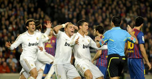 El Clasico: prompted a frenzy on Twitter