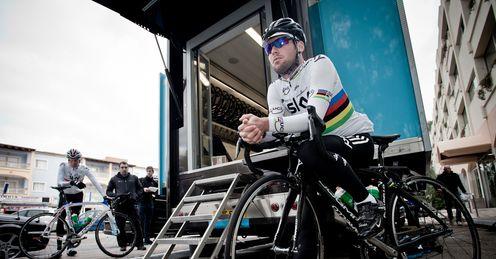 Cavendish: loving Team Sky's sprint training