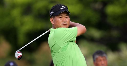 KJ Choi, one of only two Asian Golfers in the World's Top 50