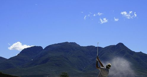 Links at Fancourt: hosts this week's Volvo Champions