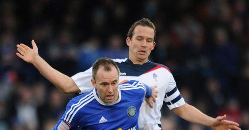 Matt Hamshaw: Determined to help Macclesfield preserve their Football League status