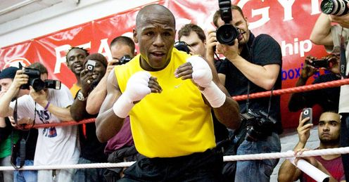 Mayweather: Ready for the ring