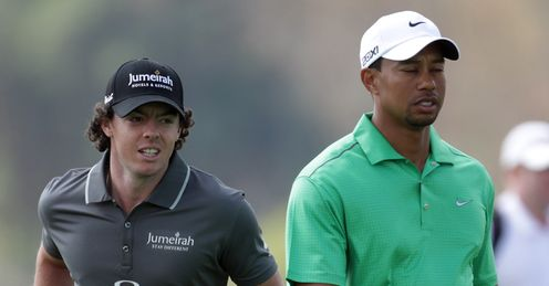 McIlroy: could he and Woods dominate the rankings?