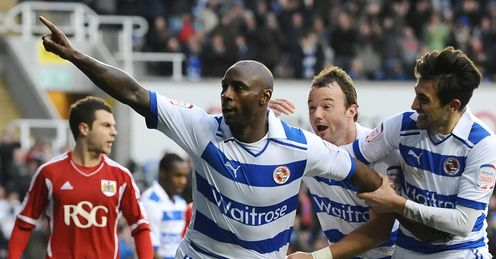 Roberts and Hunt: Reading's powerful strikeforce