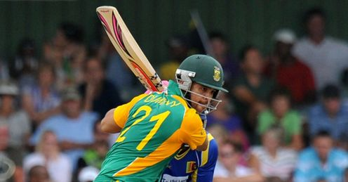 South Africa v Sri Lanka 2nd ODI East London JP Duminy